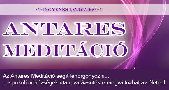 """Antares """"kódavatás"""" és ingyenesen letölthető Antares Meditáció"""