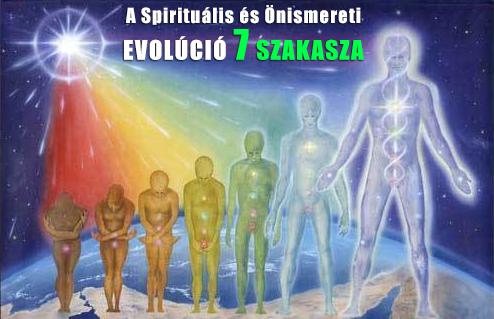 A Spirituális és Önismereti Evolúció 7 szakasza