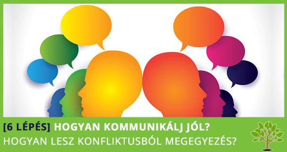 [6 lépés] Konfliktusból megegyezés – Hogyan kommunikálj jól?