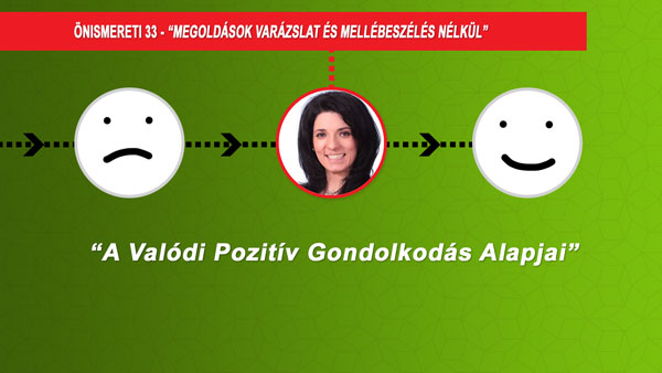 Videó A Valódi Pozitív Gondolkodás Alapjairól