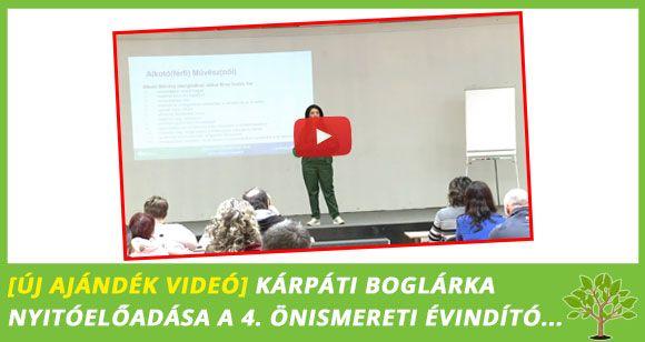 Ajándék Videó – Kárpáti Boglárka nyitóelőadása az Önismereti Évindító Nap 2018-ról