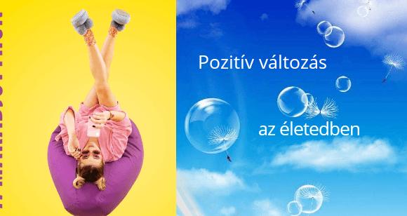 Pozitív változás az életedben